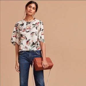 Aritzia Cambria blouse
